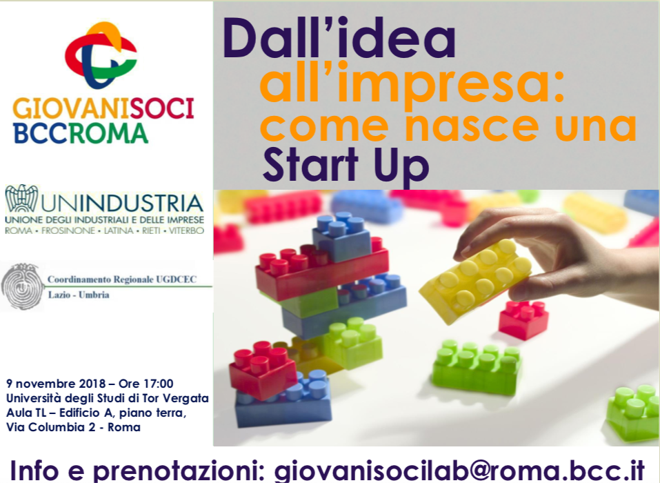 Dall'idea all'impresa: come nasce una Star Up